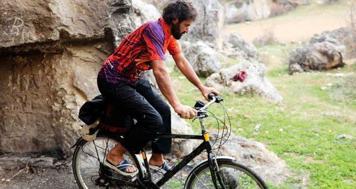 4 yılda 79 bin kilometre pedal çevirerek Türkiye'yi 7 kez turladı