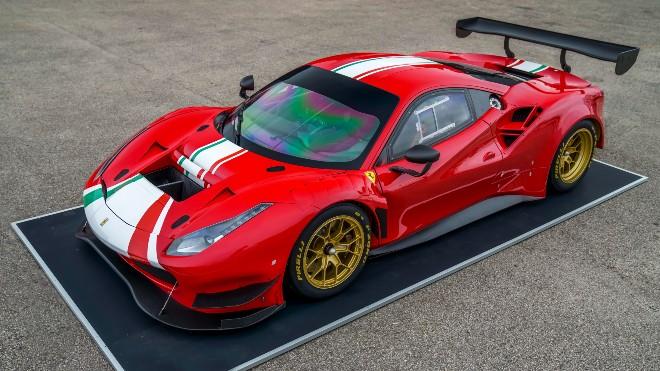 Ferrari 488 GT için Türkiye'de üretilen Pirelli P Zero DHE tanıtıldı