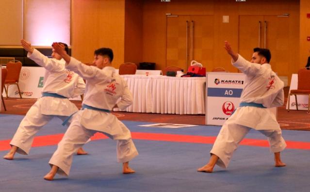 Karatede Türk fırtınası